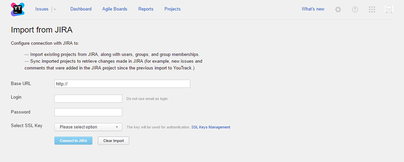 Youtrack integartion with Jira