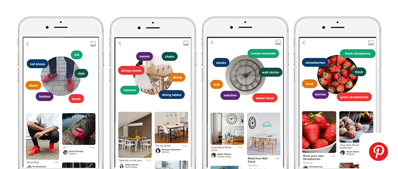 Visual search with Pinterest