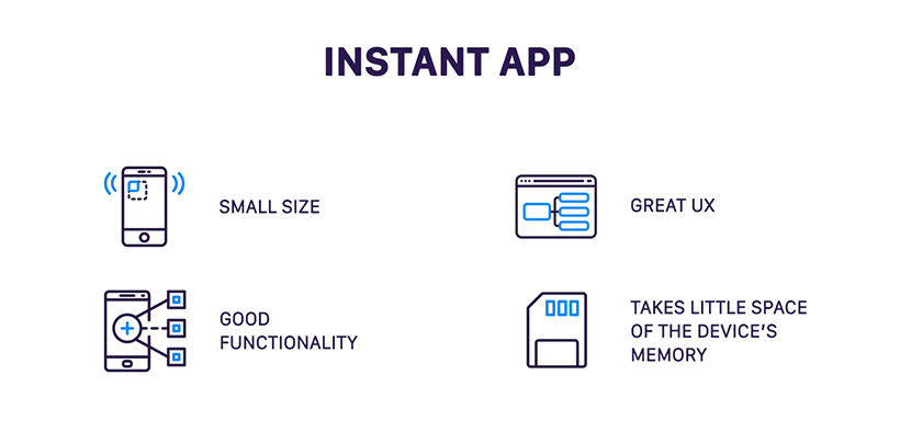 Benfits of instant apps