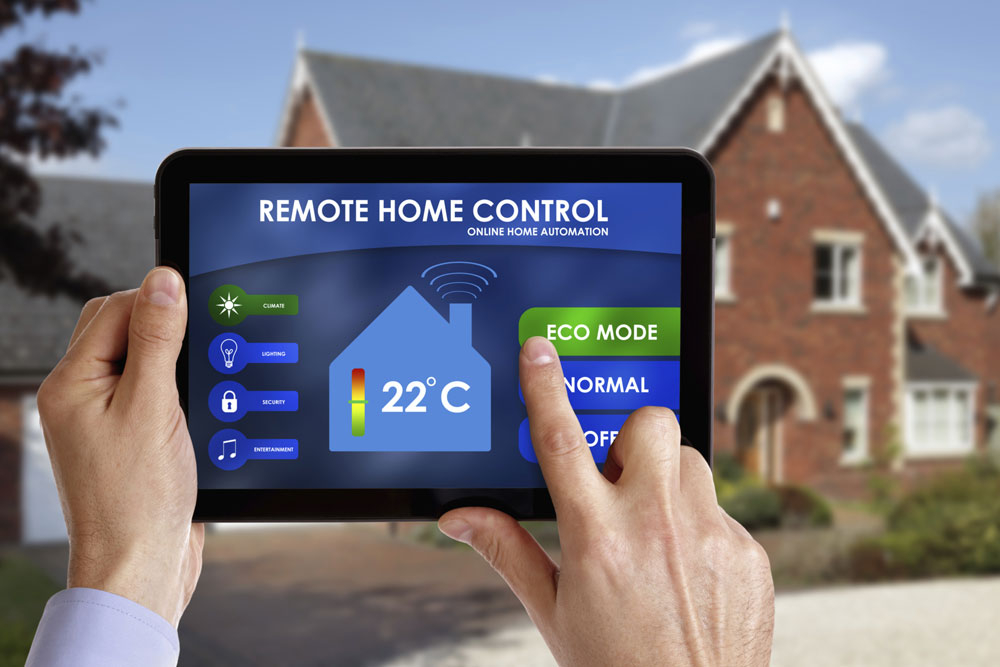 Image shows IoT example-smart home